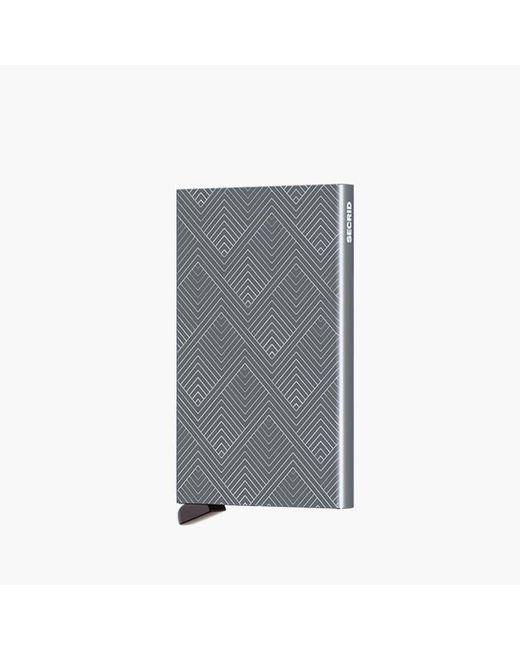 Secrid Metallic Cardprotector Laser Cla-structure Titanium