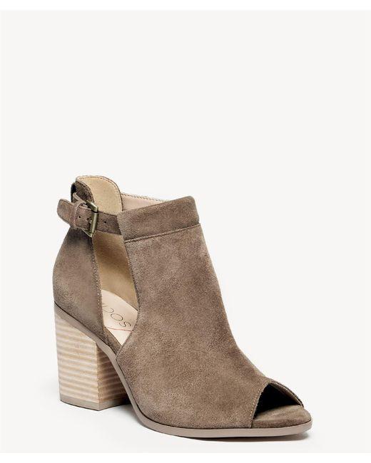 07922b2800bc Sole Society - Brown Ferris Block Heel Sandal - Lyst ...