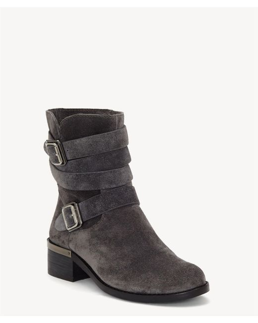 Vince Camuto - Black Webey Buckle Boot - Lyst