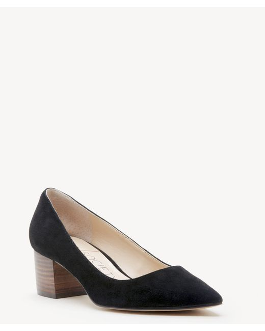 1f6d96ca102a Sole Society - Black Andorra Block Heel Pump - Lyst ...