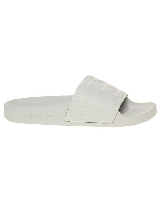 ... Adidas - Multicolor Adilette Sandals for Men - Lyst ... 9a9ce5691