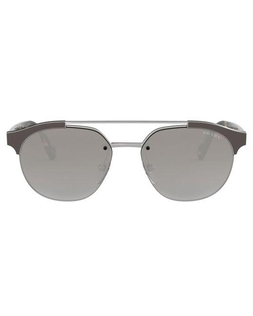 3ff6d3c9a24a Lyst - Prada Men 51vs Navigator Sunglasses in Gray for Men