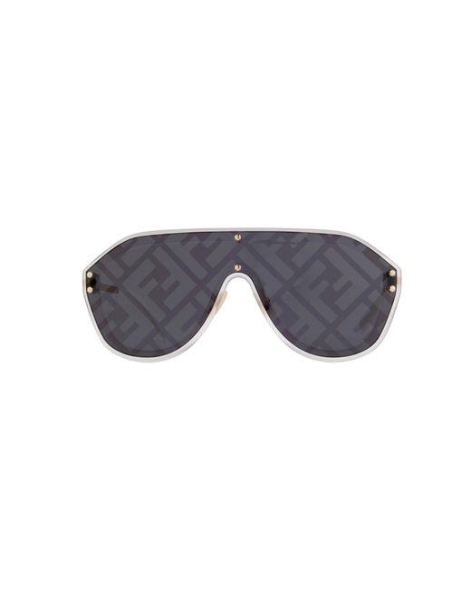 Fendi Metallic Ff M0039/g/s 83i 7r Pilot Sunglasses