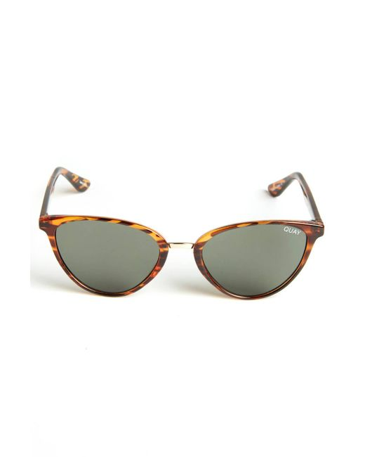South Moon Under - Multicolor Rumors Tortoise Small Cateye Sunglasses - Lyst