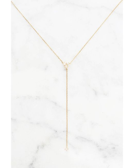 Tai | Metallic Stone Cluster Y-necklace | Lyst