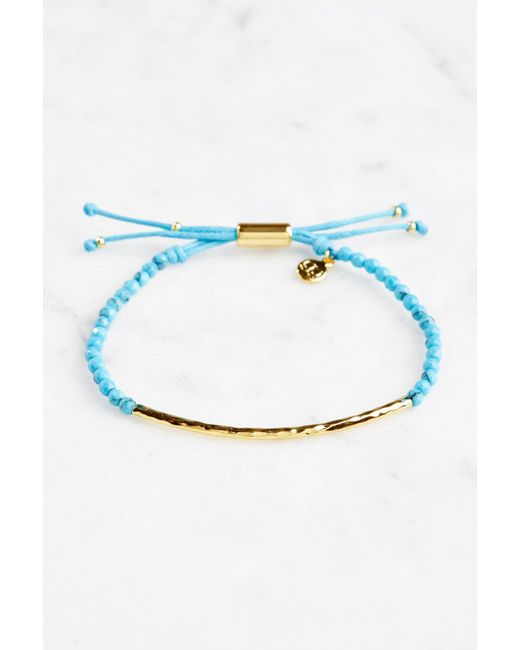 South Moon Under - Blue Power Gemstone Bracelet Healing - Lyst