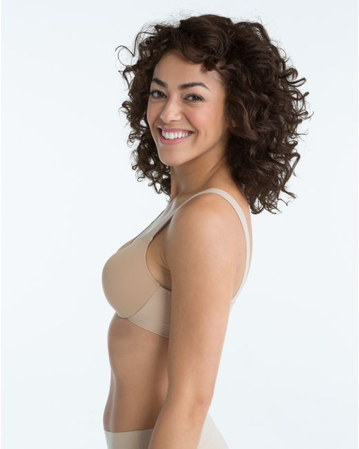 Spanx | Pink Pillow Cup Smoother Full-coverage T-shirt Bra | Lyst