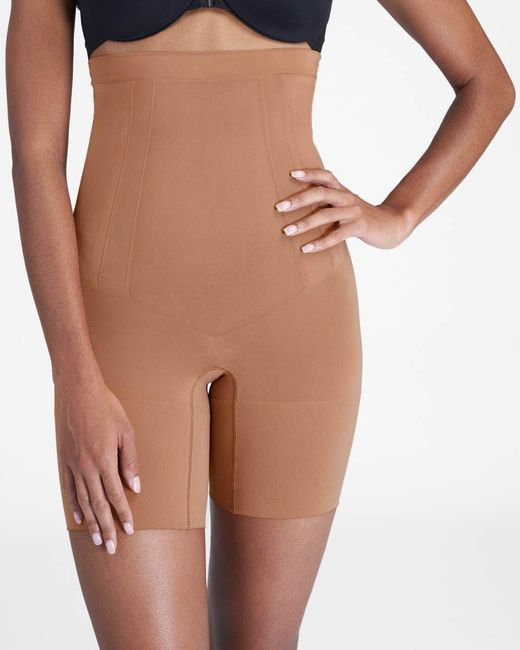 Spanx Multicolor Oncore High-waisted Mid-thigh Short