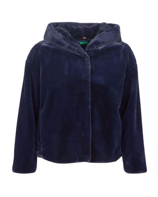 Benetton - Morti Women's Jacket In Blue - Lyst