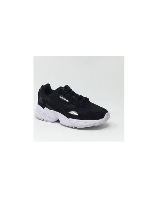 Baskets FALCON NOIR/BLANC Adidas en coloris Black