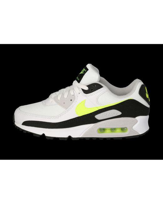 Air Max 90 Blanche, Verte, Noir, Grise Homme Chaussures Nike pour ...
