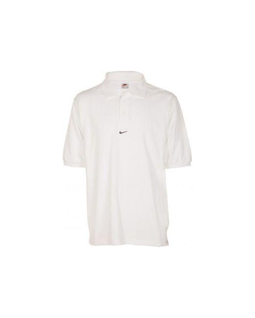 Polo Blanc (taille US voir description) hommes Polo en blanc Nike pour homme en coloris White