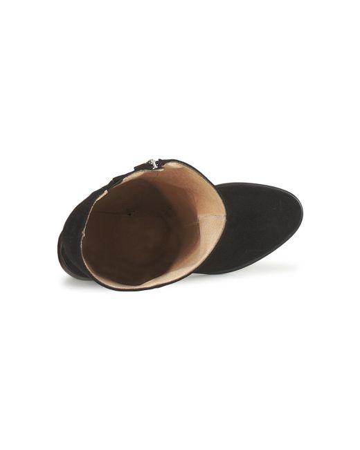 LUCILLA VELOURS Fericelli de color Black