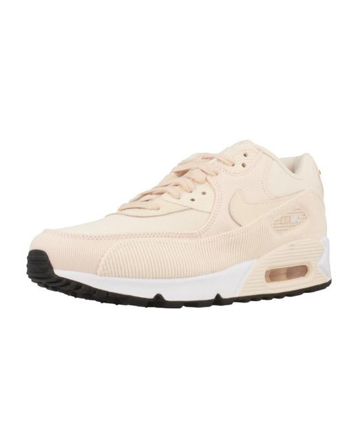 d34bb88382eead Nike Air Max 90 Lea Women s Shoes (trainers) In Pink in Pink - Lyst