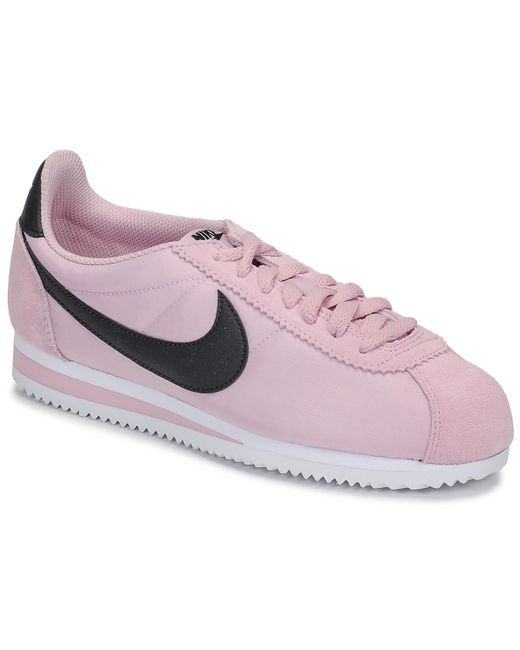 new style 902f2 dcf86 Women's Pink Classic Cortez Nylon W Shoes (trainers)