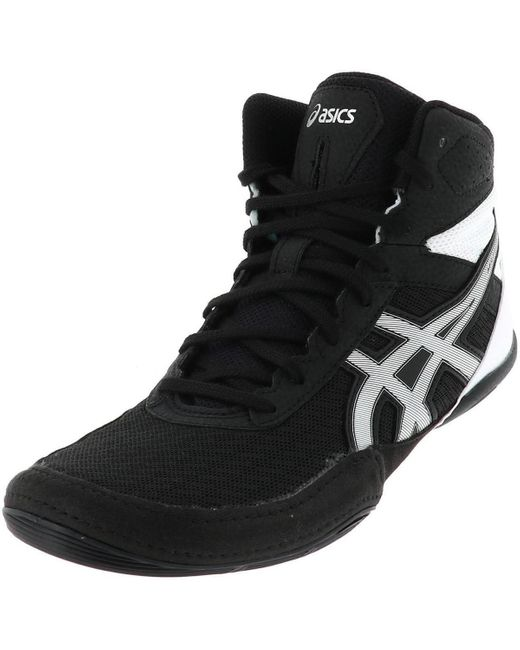 Matflex 6 noir lutte hommes Chaussures en Noir Asics pour homme en ...
