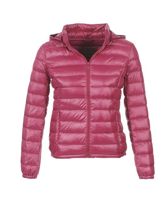 Benetton - Mala Women's Jacket In Pink - Lyst