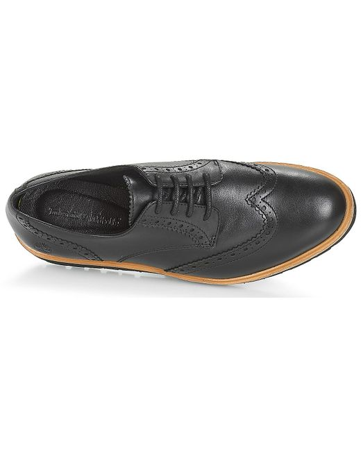 best wholesaler half price super cheap Timberland Leather Ellis Street Oxford Casual Shoes in Black ...