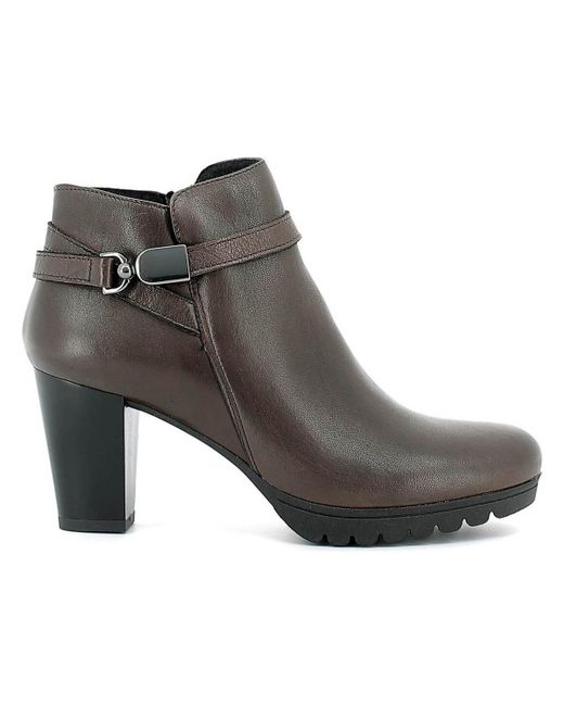Keys | 1142 Ankle Boots Women Brown Women's Mid Boots In Brown | Lyst
