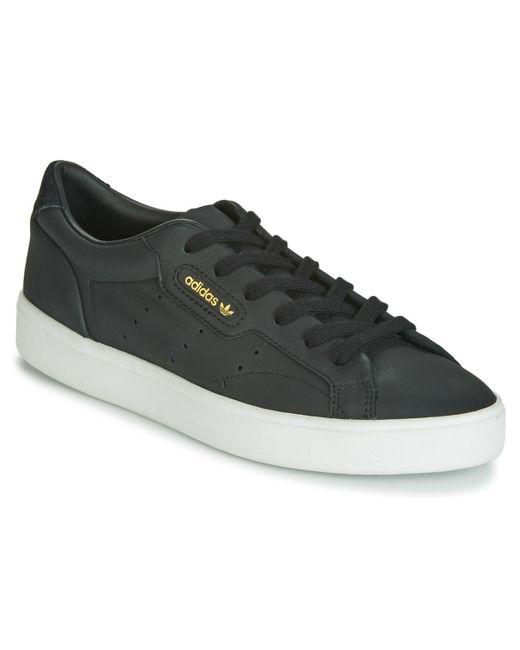Chaussure Sleek Adidas en coloris Black