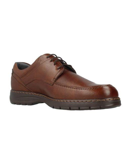 Fluchos Nette Schoenen 9142 in het Brown voor heren