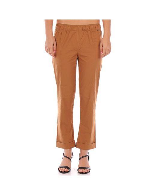 191ST pantalones mujer beige Twin Set de color Natural