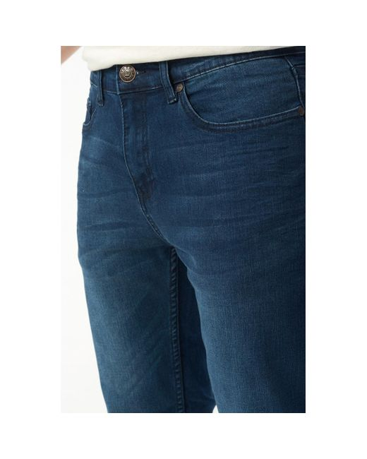 Jean slim hommes Jeans en bleu Best Mountain pour homme en coloris Blue