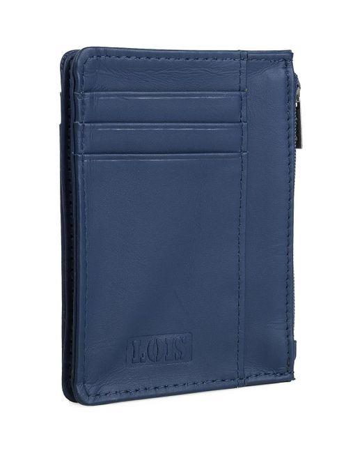 CLOUD Portefeuille Lois en coloris Blue