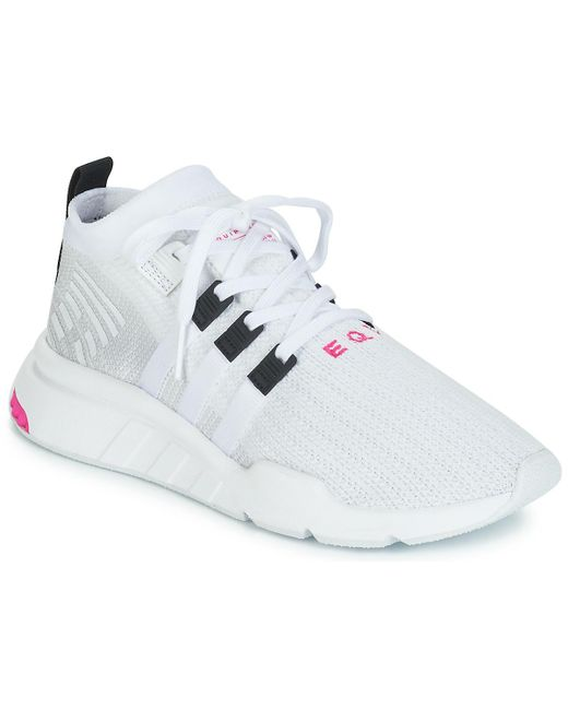 cheap for discount 35232 5113c Eqt Support Mid Adv Men's Shoes (trainers) In White