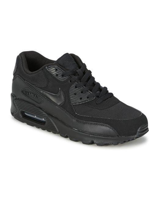 Air Max 90 Homme Cuir Nike pour homme en coloris Noir - 44 % de ...
