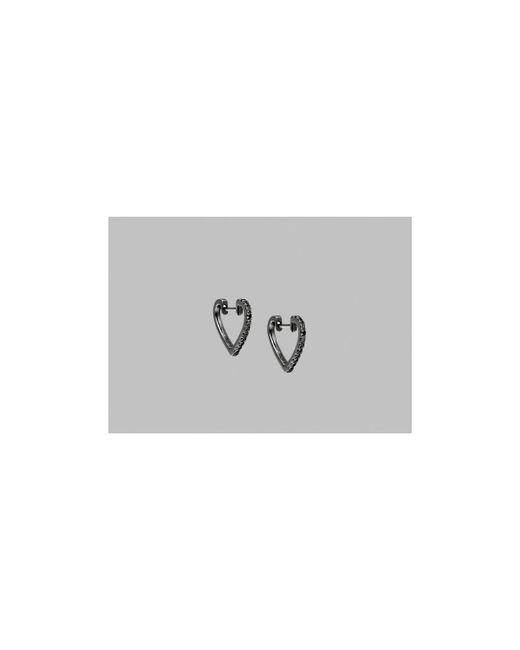 Ofée | Gray New Love Mini Hoop Earrings 17125 Women's Earrings In Other | Lyst