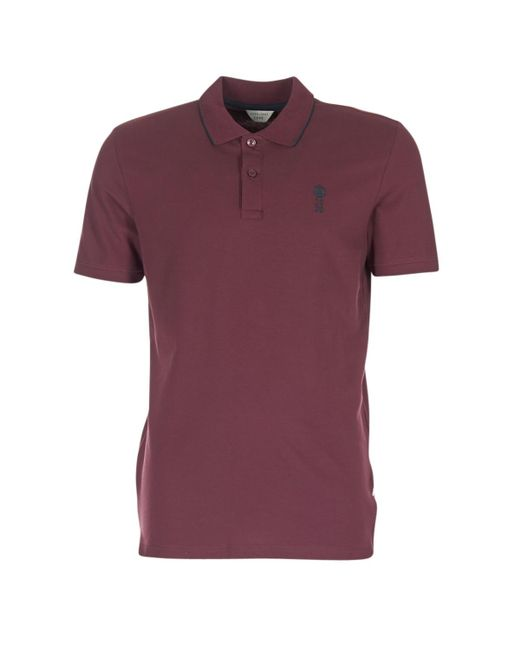Jack & Jones   Stone Core Men's Polo Shirt In Red for Men   Lyst