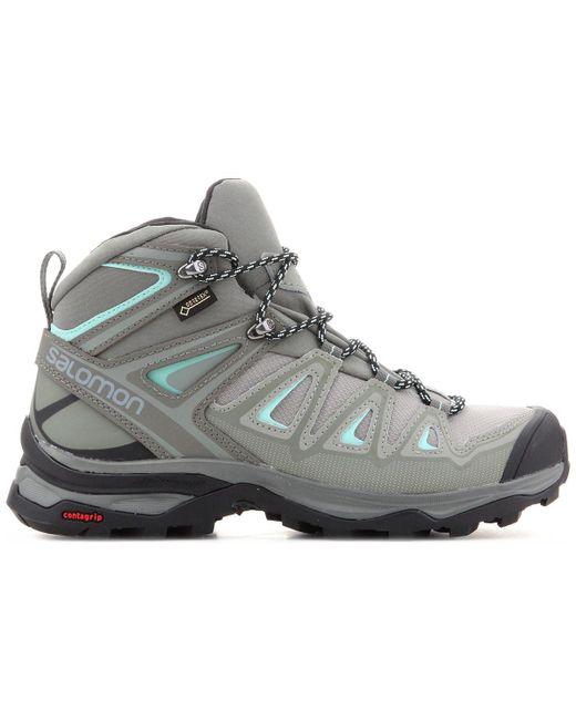 detailed look 6426b 079a4 X Ultra 3 Mid Gtx W 401346 Women's Walking Boots In Green
