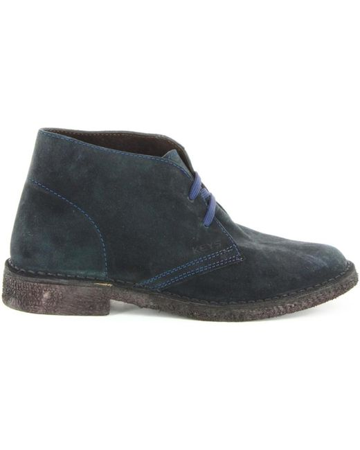 Keys | 7288 Ankle Women Blue Women's Mid Boots In Blue | Lyst