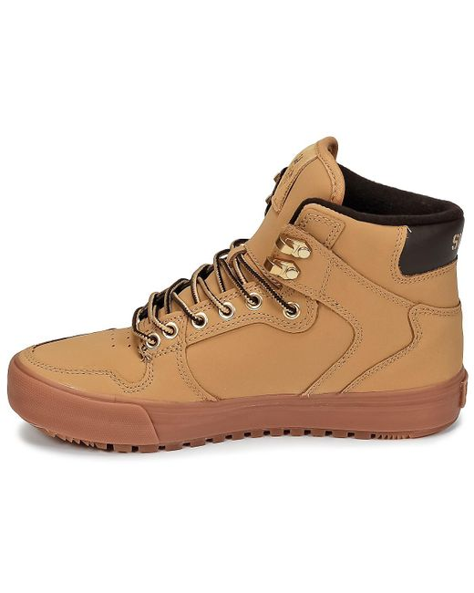 8c412ff1866 ... Supra - Vaider Cw Men's Shoes (high-top Trainers) In Brown for Men ...