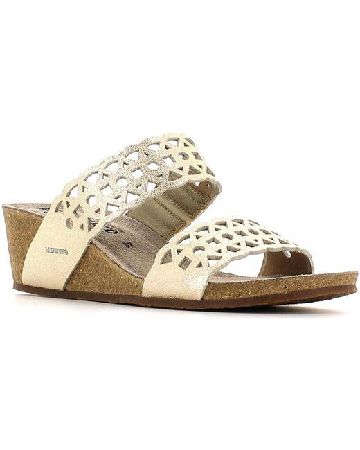 Mephisto | Gray P5114056 Sandals Women Platinum Women's Sandals In Grey | Lyst