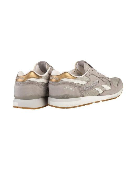 aeca80d4166 ... Reebok - Metallic Lx 8500 Met Men s Shoes (trainers) In Gold for Men ...