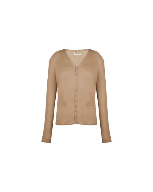 Max & Moi | Natural Cardigan Mirage Women's Cardigans In Beige | Lyst