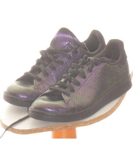 Paire De Baskets 36 Chaussures adidas en coloris Violet - Lyst