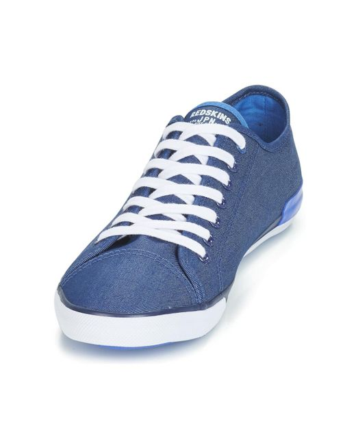 7420910e Redskins Frag Men's Shoes (trainers) In Blue for Men - Lyst