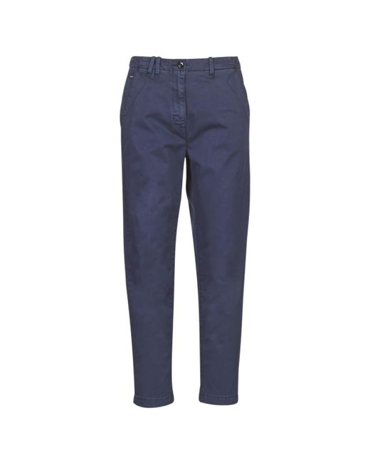 G-Star RAW Chino Broek Page Bf Chino Wmn in het Blue
