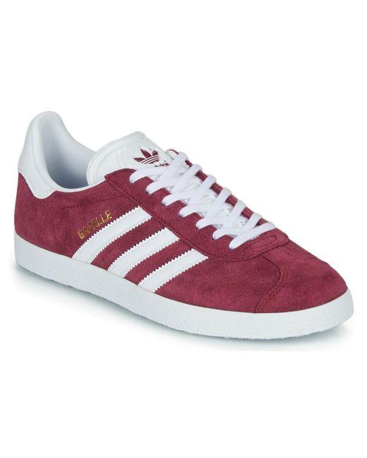 Gazelle Adidas en coloris Red
