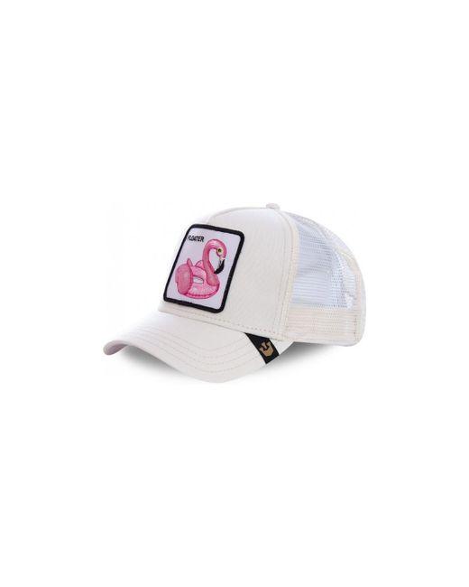 Casquette Baseball Floater Blanc et Rose hommes Casquette en blanc Goorin Bros pour homme en coloris White