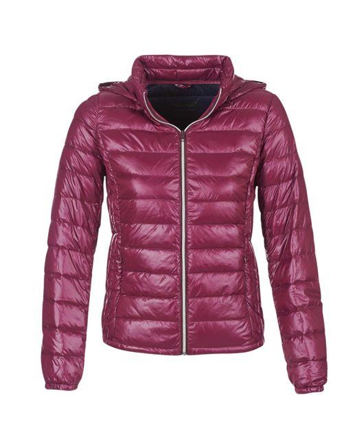 Benetton - Modat Women's Jacket In Red - Lyst