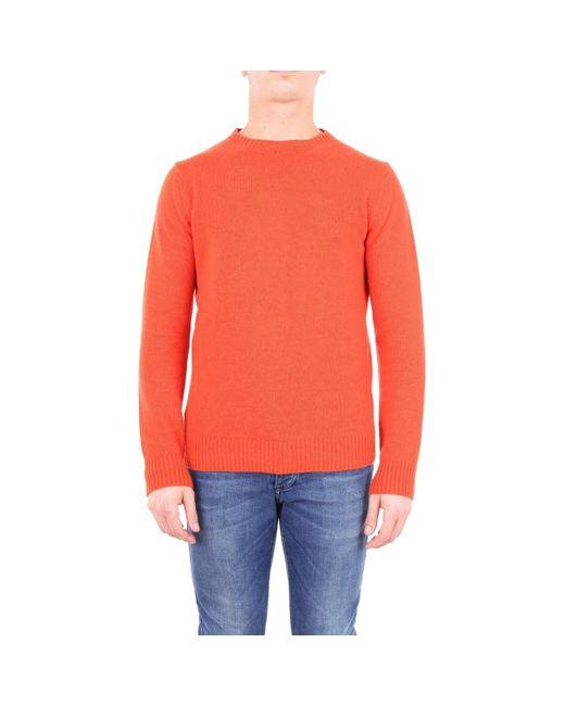 MAILLE HOMME Pull Jeordie's pour homme en coloris Orange