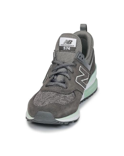 New Balance Lage Sneakers Ws574 in het Gray