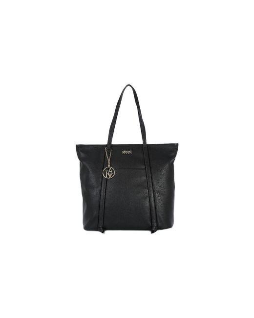 Armani Jeans | Black 020 Shopping Bag Women's Shopper Bag In Multicolour | Lyst