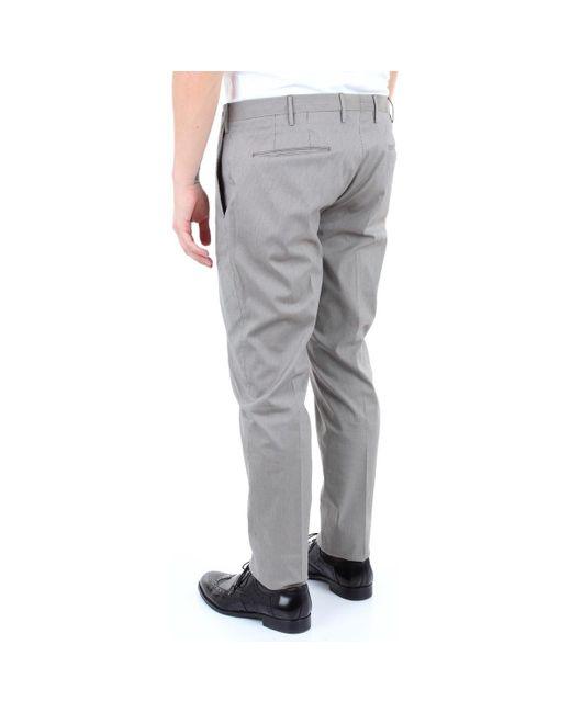 Pto5 MR12KSZEZ10CL3 Chinots homme de coloris gris
