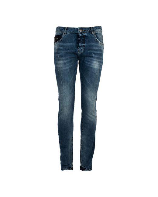 John Richmond Skinny Jeans in het Blue voor heren
