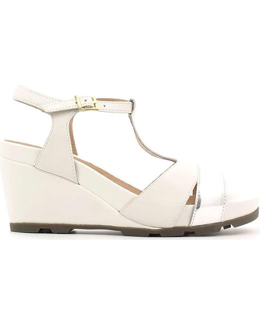 Stonefly - 106549 Wedge Sandals Women White Women's Sandals In White - Lyst